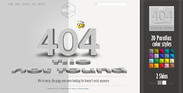 Free Download 404 Error Page Nulled Latest Version