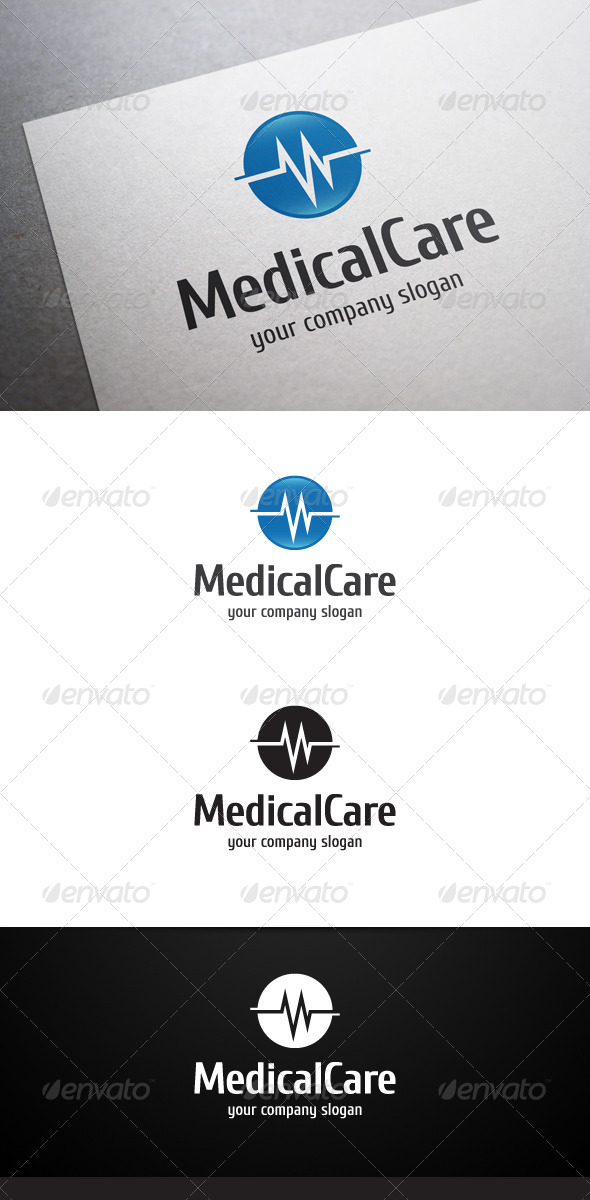 Medical Care Logo - Symbols Logo Templates