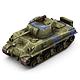 Military Modern War Heavy Tank (Blue) - 3DOcean Item for Sale