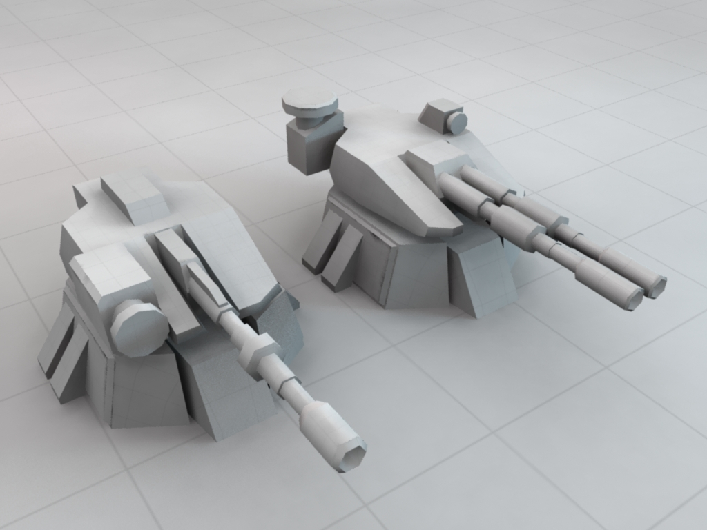 Boob turret defence