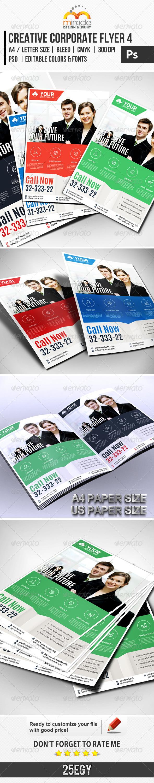 Creative Corporate Flyer 4 - Corporate Flyers