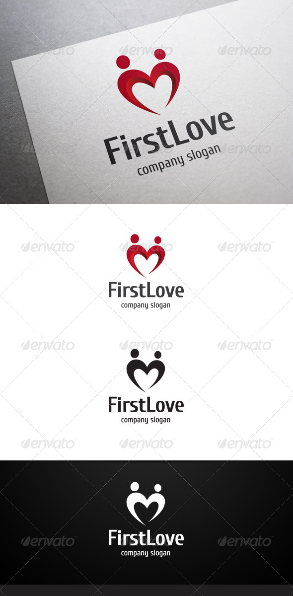 First Love Logo - Symbols Logo Templates