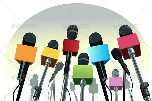 Microphones on the Podium - Conceptual Vectors