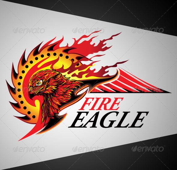 Fire Eagle Logo - Decorative Symbols Decorative