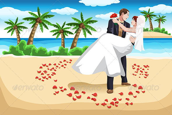 Beach Wedding - Weddings Seasons/Holidays