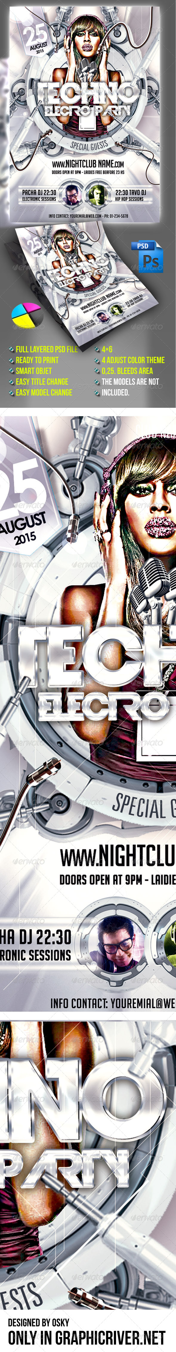 Techno Party - Clubs & Parties Events