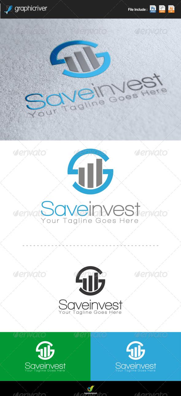 Save Invest Logo - Symbols Logo Templates