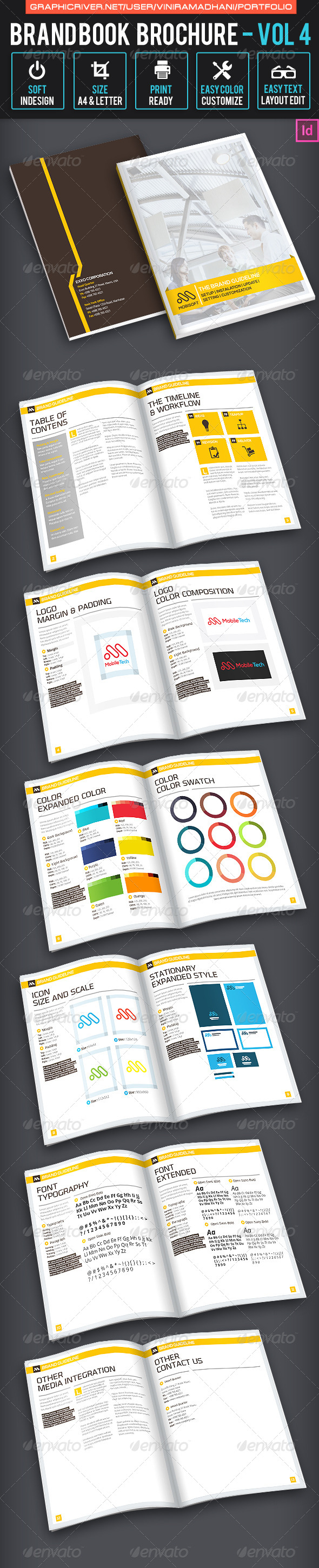 Brandbook Brochure | Volume 4 - Informational Brochures