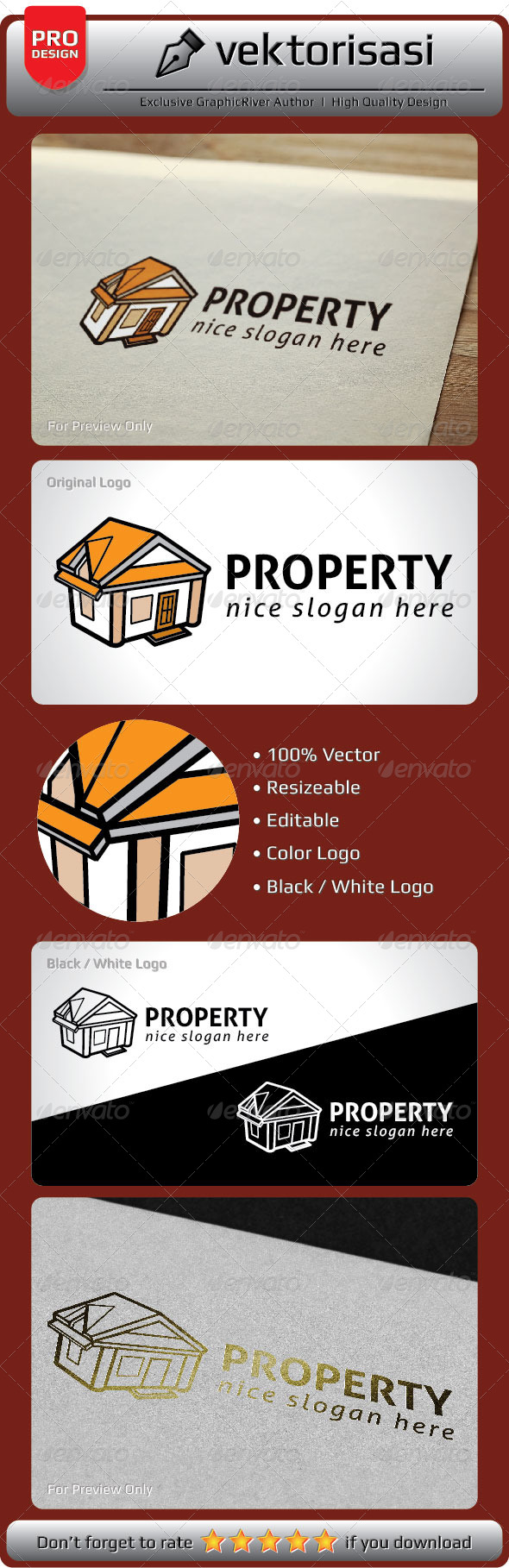 Property Logo - Buildings Logo Templates