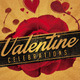 Valentines Party Flyer Retro - GraphicRiver Item for Sale