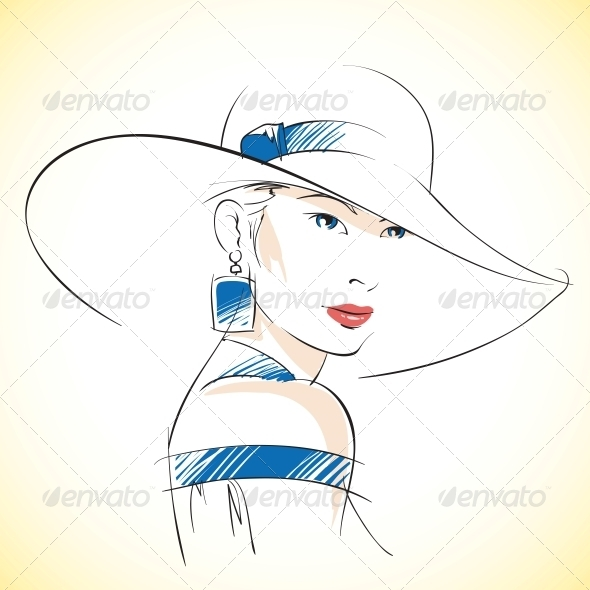 Fashion Woman - People Characters