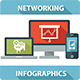 Network Infographics Elements - GraphicRiver Item for Sale
