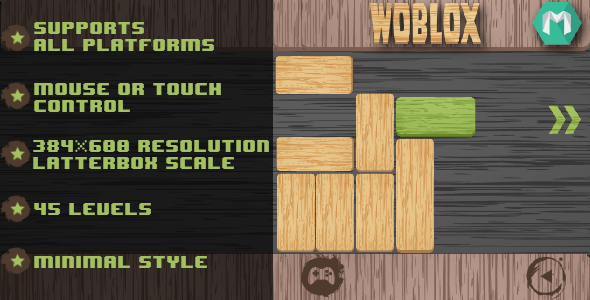 Woblox - CodeCanyon Item for Sale
