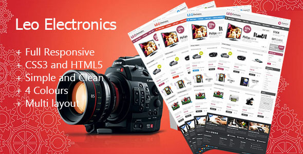 Leo Electronics Prestashop Theme - Technology PrestaShop