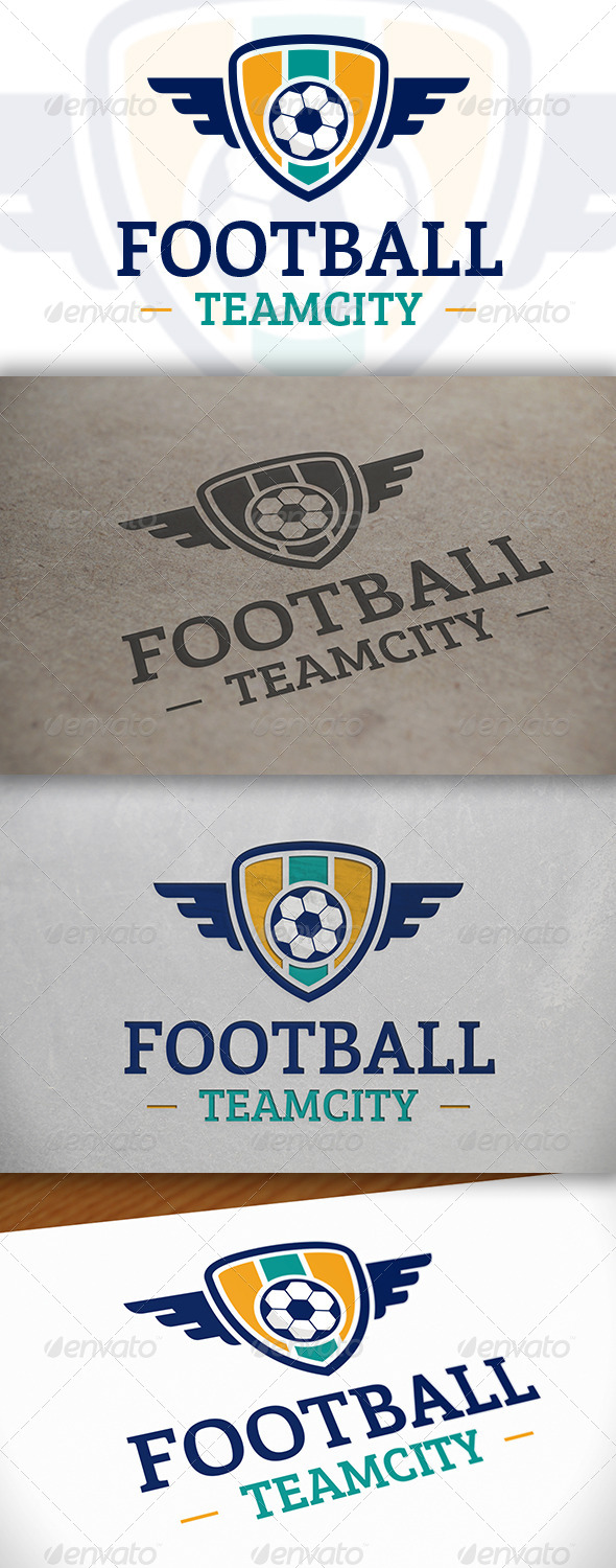 Football Logo Template - Crests Logo Templates