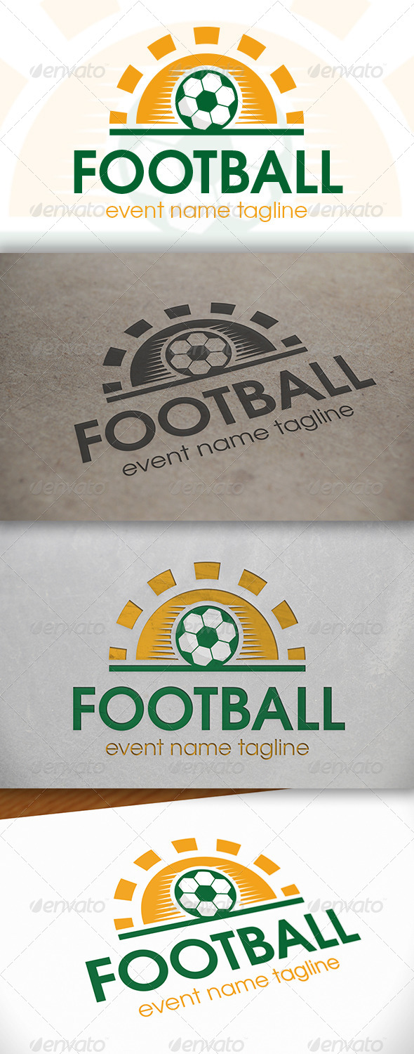 Football Day Logo - Nature Logo Templates