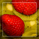 Kiwi And Strawberry In Movement - VideoHive Item for Sale