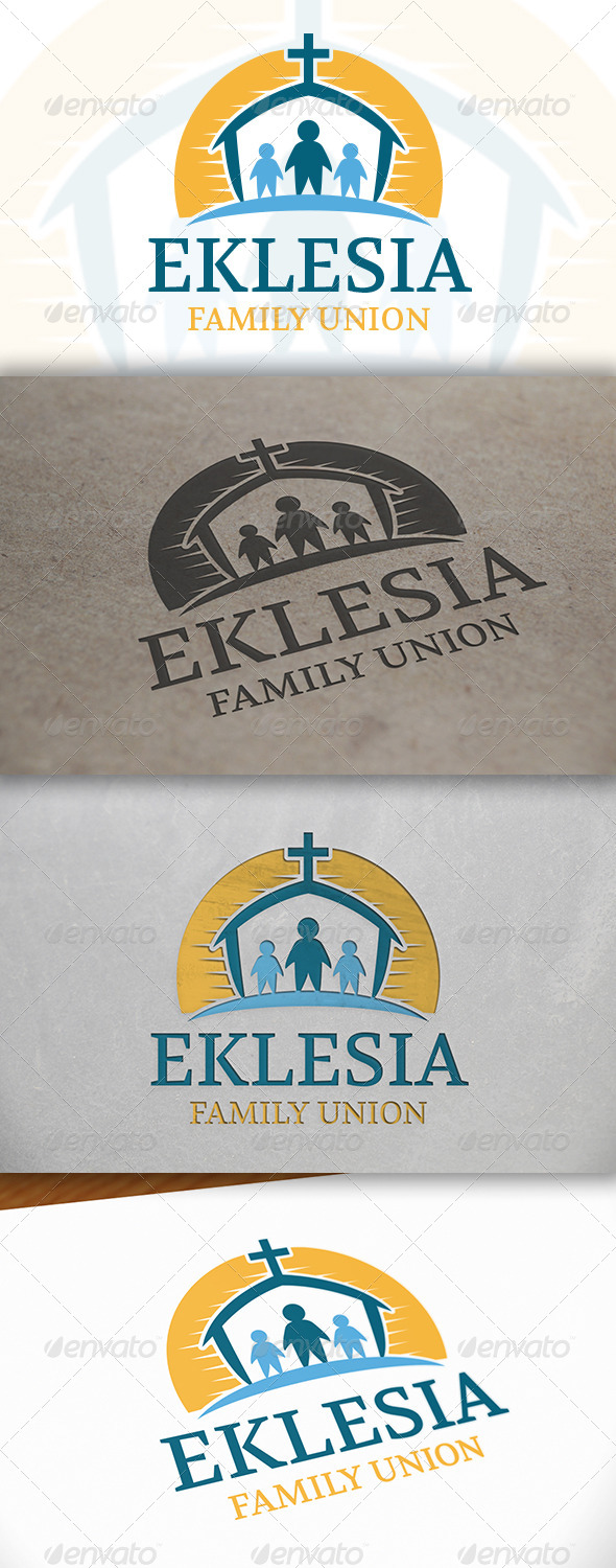 Family Church Logo - Humans Logo Templates