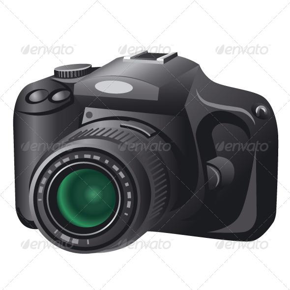 Digital Camera - Vectors