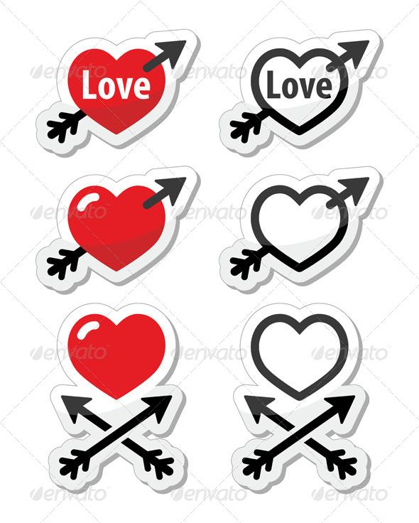 Valentine's Day Icons - Valentines Seasons/Holidays