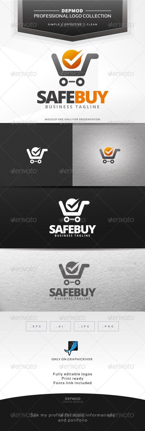 Safe Buy Logo - Symbols Logo Templates
