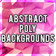 8 Abstract Poly Backgrounds - GraphicRiver Item for Sale