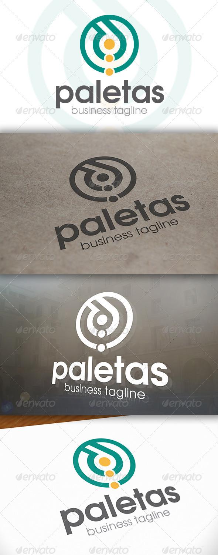 Paletas Logo - Vector Abstract