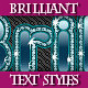 Set of Original Diamonds Text Grapic Styles. - GraphicRiver Item for Sale