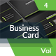 Creative Business Card Vol.4 - GraphicRiver Item for Sale