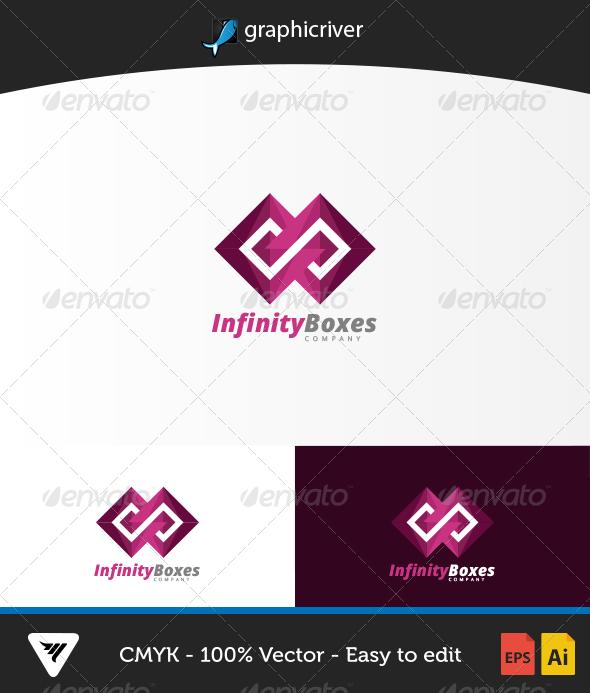 InfinityBoxes Logo - Logo Templates