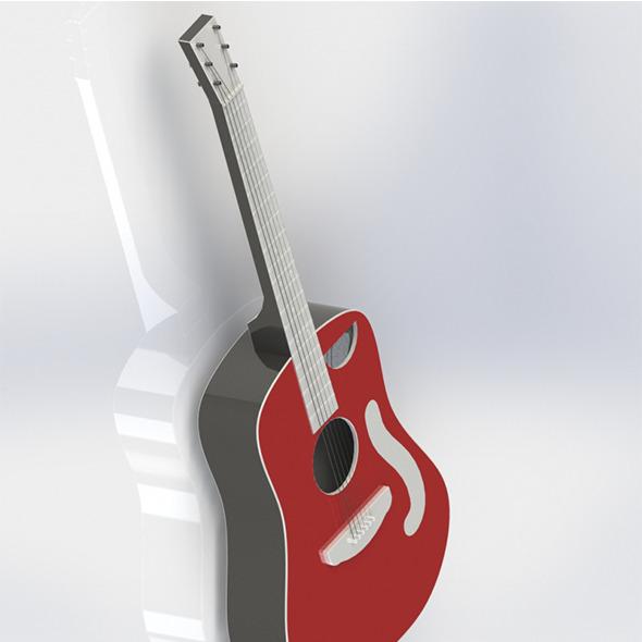 Classical Guitar - 3DOcean Item for Sale
