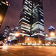 Night time Skyscraper Busy Street City - VideoHive Item for Sale