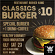 Classic Burger Banners Ads - GraphicRiver Item for Sale