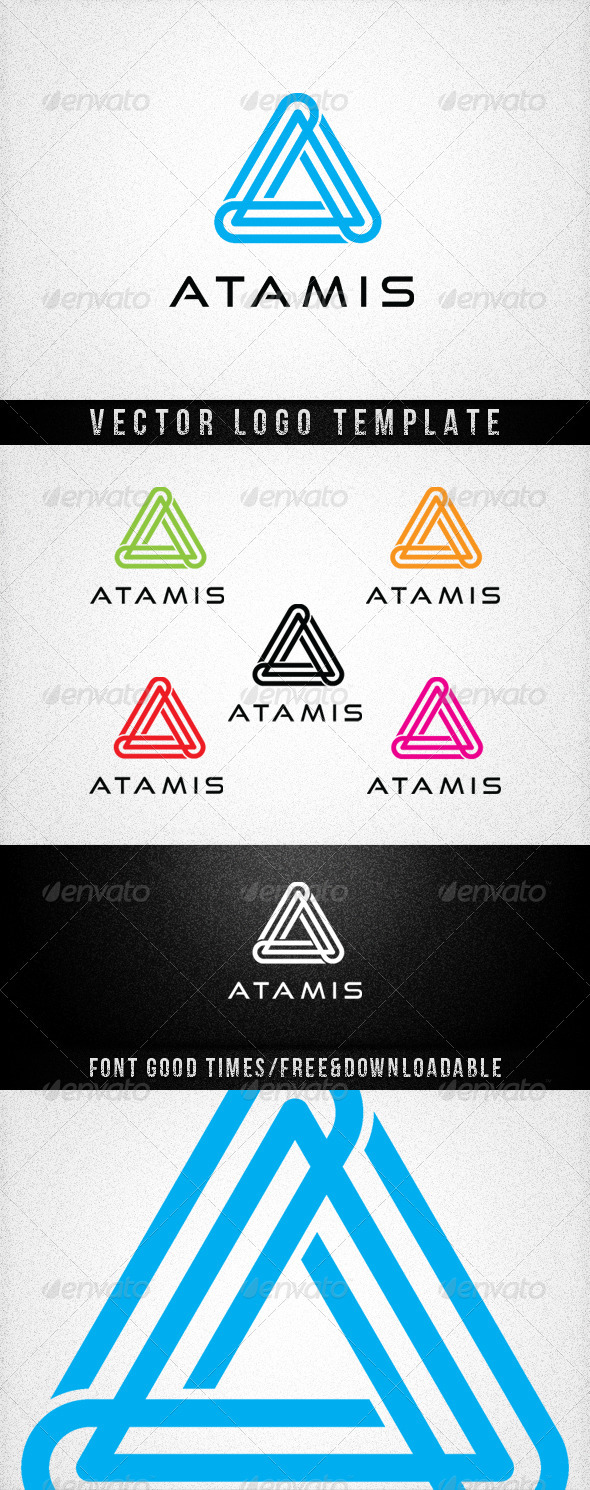 ATAMIS - Letters Logo Templates