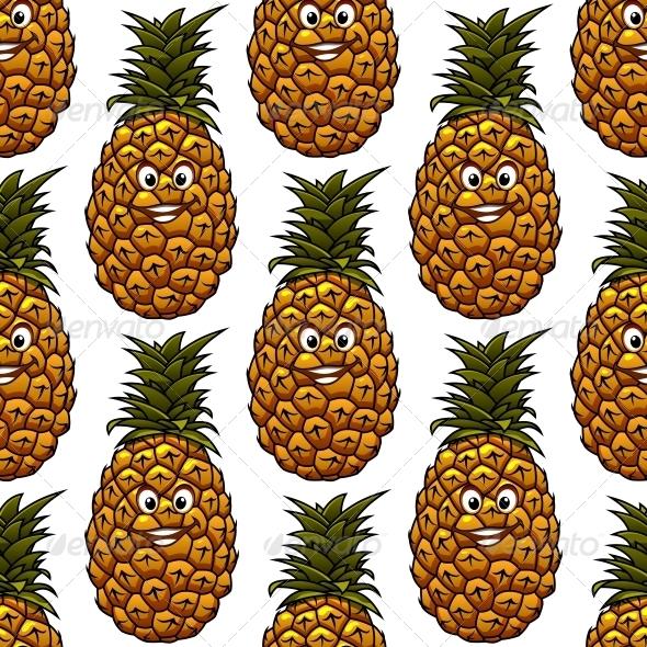 Pineapple Pattern - Patterns Decorative