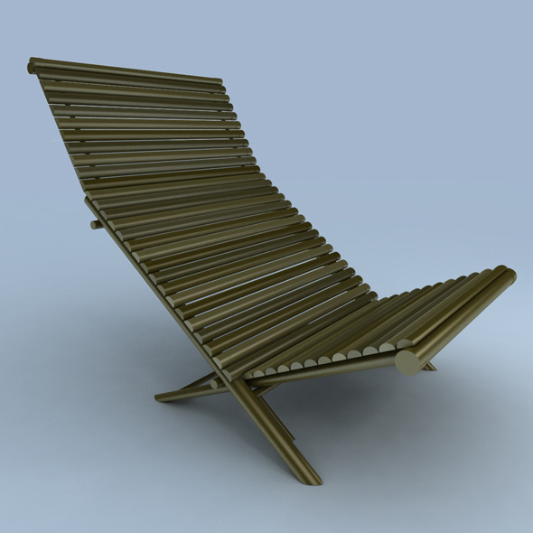deck chair - 3DOcean Item for Sale