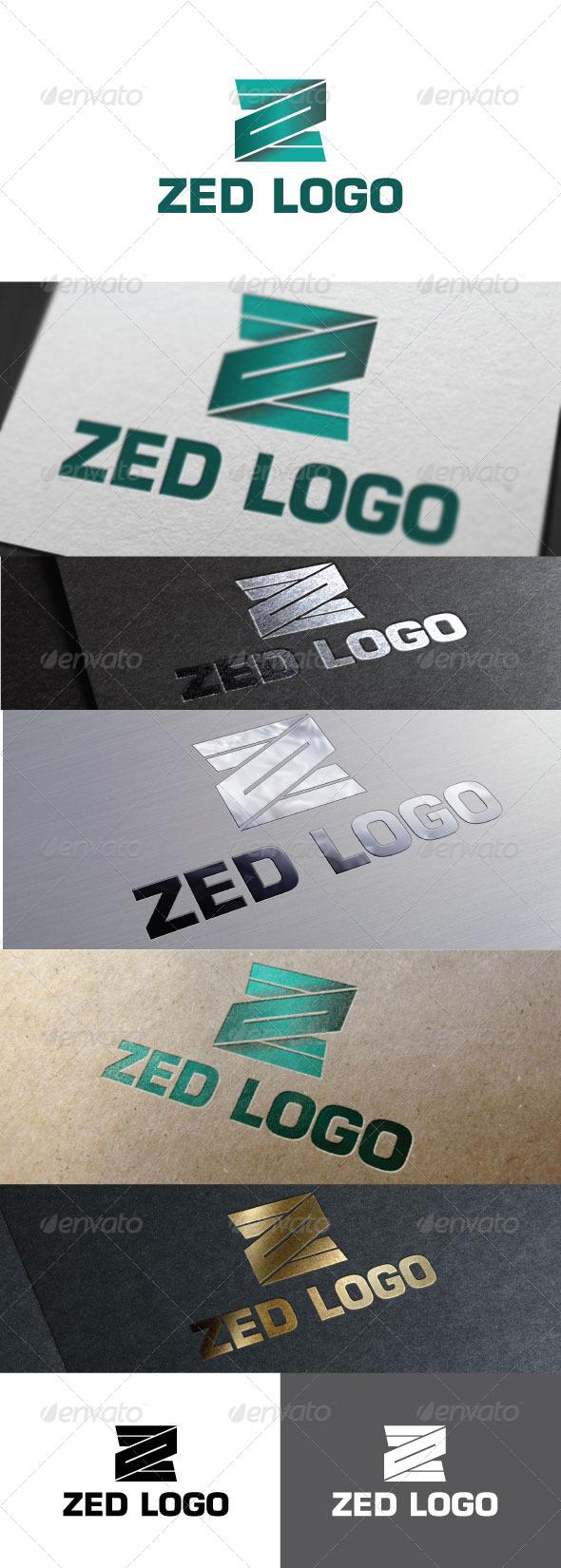 Zed Logo Template - Letters Logo Templates