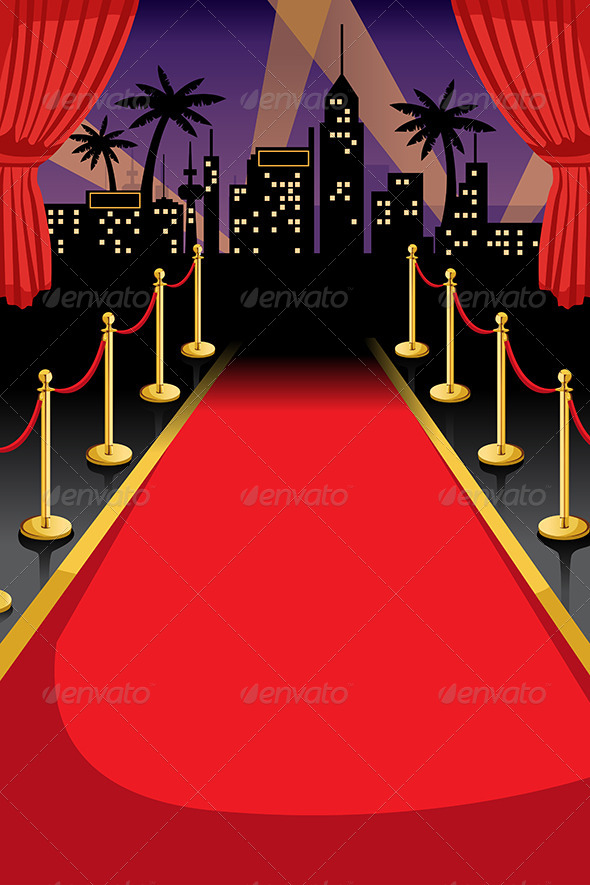 Red Carpet - Backgrounds Decorative