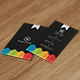 Creative Business Card VO-20 - GraphicRiver Item for Sale