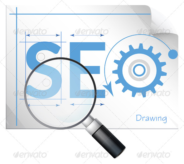 SEO - Search Engine Optimization - Illustration - Web Technology
