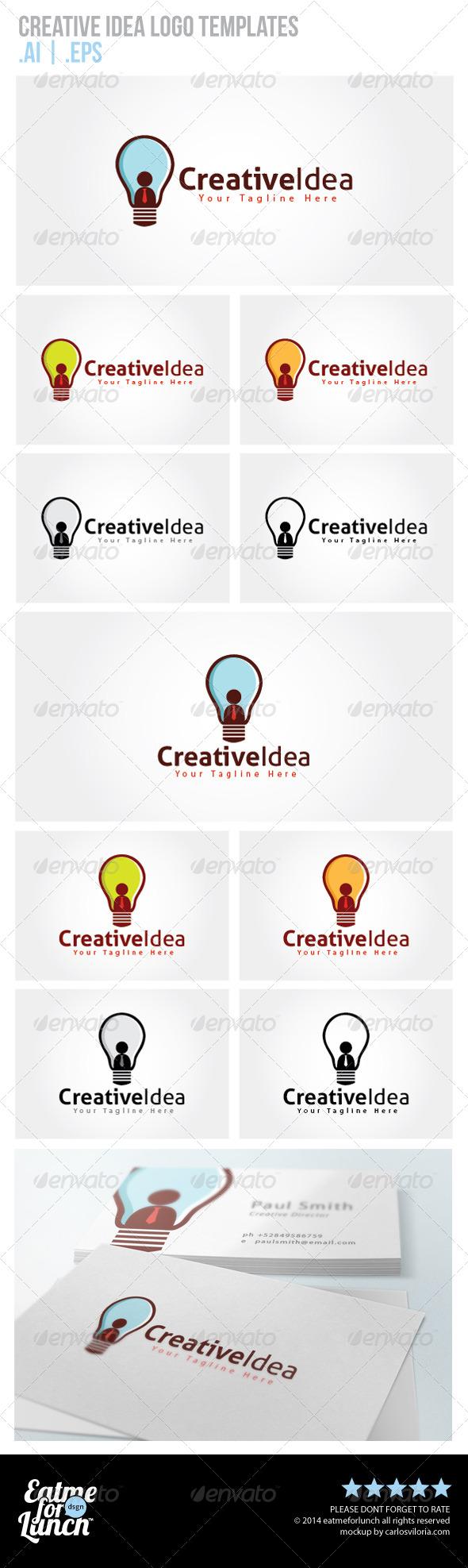 Creative Idea Logo Templates - Objects Logo Templates