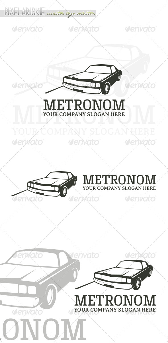 Metronom Vintage Logo - Objects Logo Templates
