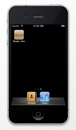 Mortgage Calculator - iPhone App