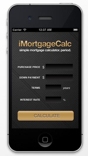 Mortgage Calculator - iPhone App by santisweb | CodeCanyon