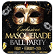 Masquerade Ball Flyer Landscape / Portrait Version - GraphicRiver Item for Sale