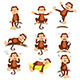 Monkey with Expressions - GraphicRiver Item for Sale