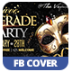 Exclusive Masquerade Ball Facebook Cover - GraphicRiver Item for Sale