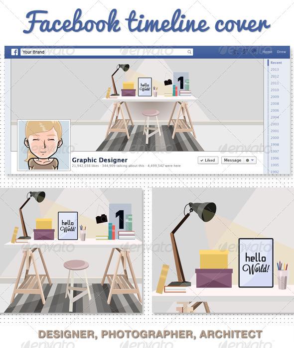 Photographer Desinger Facebook Timeline Cover - Facebook Timeline Covers Social Media
