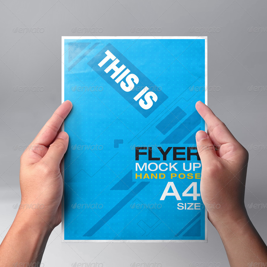 Image result for flyer mockup