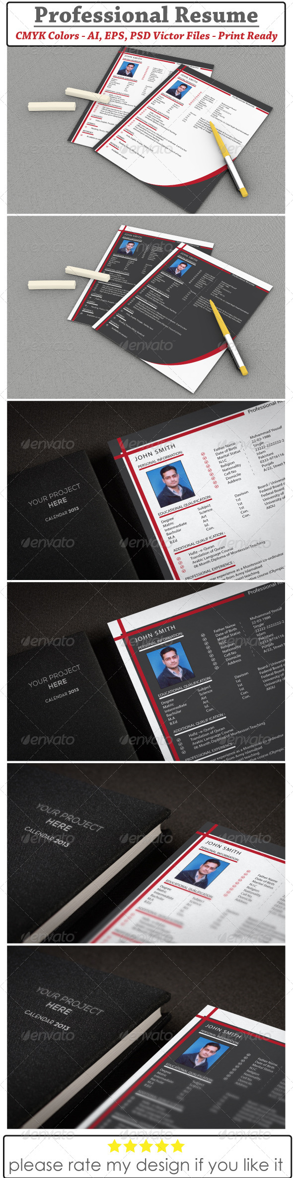 Resume & CV Design - Resumes Stationery